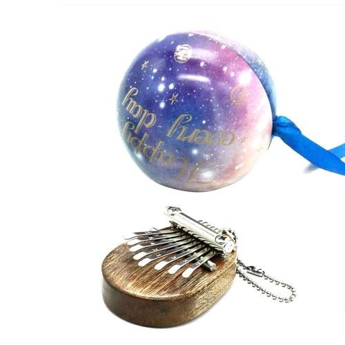 8 Schlüssel Kalimba Mini Portable Thumb Piano