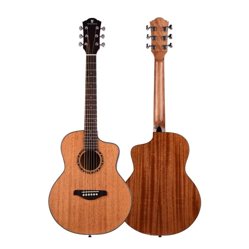 36 Inch Acoustic Guitar Mahogany Wood Material