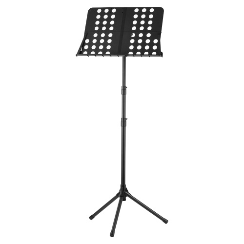 Sheet Music Stand 84cm-160cm Adjustable Height Folding Portable