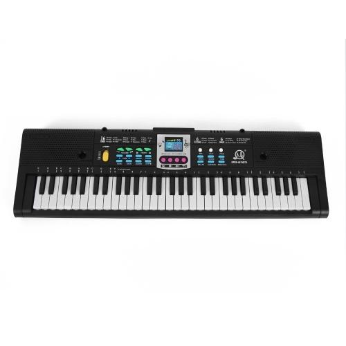 61 клавишная цифровая музыкальная электронная клавиатура Детское многофункциональное электрическое пианино