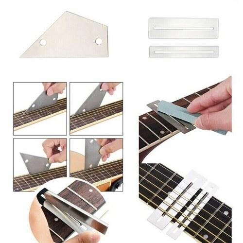 Gitarrenpflege Reinigung Reparaturwerkzeuge Kit Gitarrenbauer Setup Wartungswerkzeuge Set
