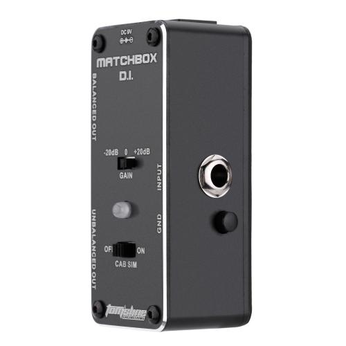 AROMA AMX-3 MATCHBOX D.I. Trasferimento Chitarra o Basso Segnale Direttamente per Sistema di Audio Mini Analogico Effetto a  Pedale Vera Circonvallazione