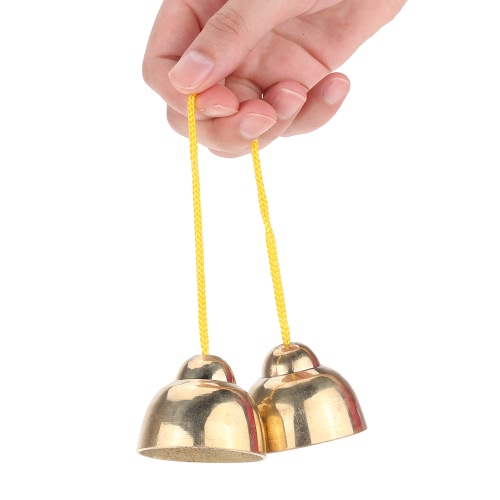 Golden String Touching Jingle Bell Early Educational Musical Percussion Instrument Toy Gift for Baby Kid Child Christmas