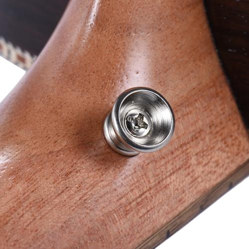 "Ammoon 24 ""Koreański Koncert Akustyczny Sosnowy Ukulele Ukelele Uke Drewniany 18 Frets 4 Struny Okoume Neck Rosewood Fretboard Instrument strunowy Musical Gift"