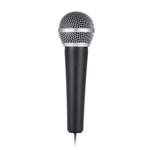 Dispositivo cardioidale dinamico a microfono a microfono a microfono con microfono cardioidale a 3.5mm per connessione del computer portatile