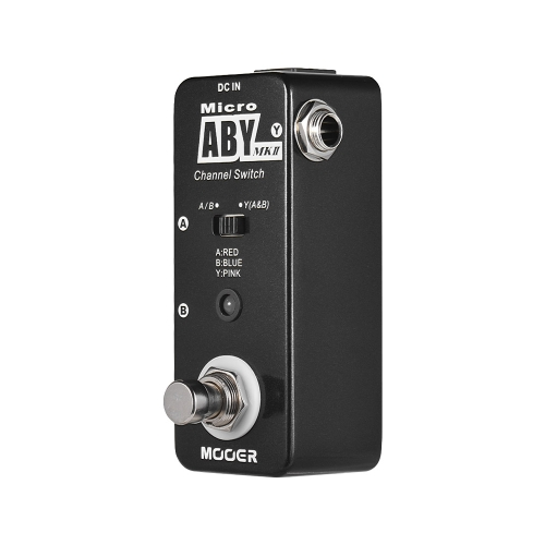 MOOER ABY MKII Interruptor de canal Guitar Effect Pedal True Bypass Full Metal Shell