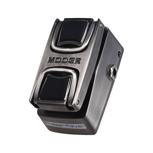 MOOER Phaser Player Digital Phaser Effect Pedal Pressure Sensing Switch True Bypass Full Metal Shell