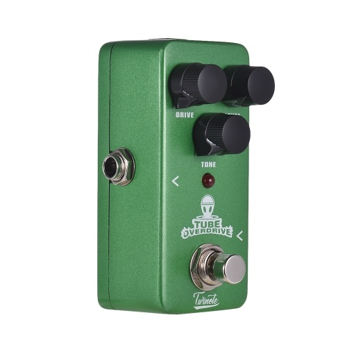 Twinote TUBE OVERDRIVE Mini Analog Overdrive Guitar Effect Pedal Processsor Full Metal Shell with True Bypass