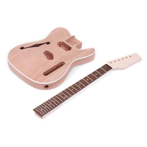 Muslady TL Tele Style unvollendete E-Gitarren-Bausatz