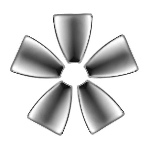 Le tambour de crochet de triangle de tambour en métal croque le tambour a placé le remplacement d'accessoires de pièces, 5pcs / paquet