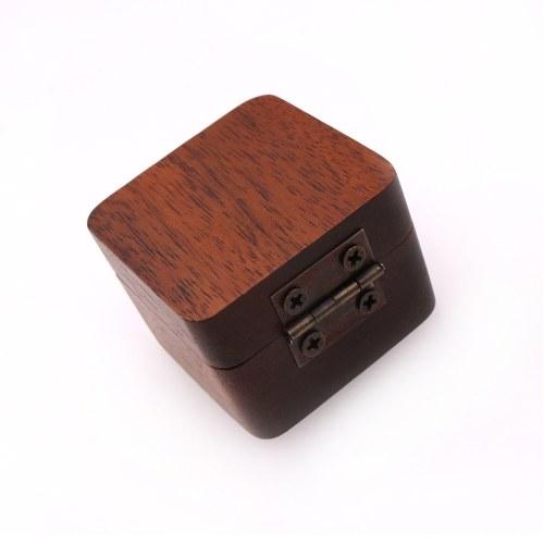 Wood Guitar Pick Box Storage Case Plectrum Holder