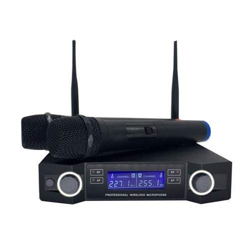 Wireless Microphone Digital Display Mic System Set