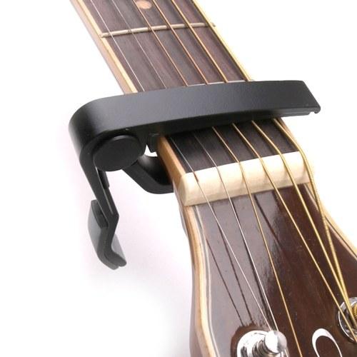 Guitar/Ukulele Tool Kit 10pcs Soft Felt Ukulele Picks(Random Color) 3 Set of Strings(4pcs/Set) 1pc Clip-on Capo 1pc String Winder for 21/23/26 Inch Ukulele Guitar More