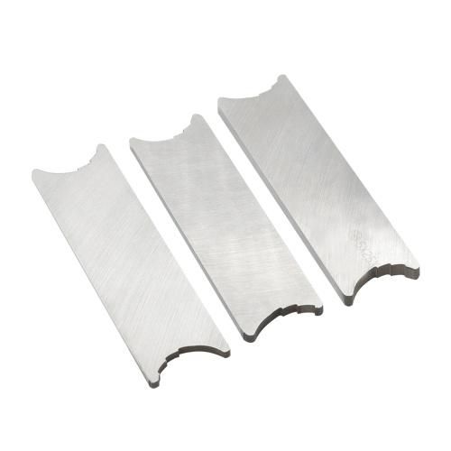 3 Stück Praktisches White Steel Orchestra Wartungswerkzeug Zubehör für Blasinstrumente Klarinettenreparaturwerkzeug-Kit