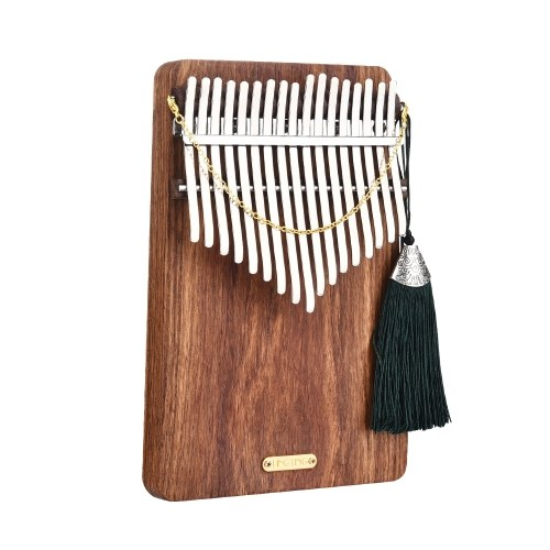 LINGTING K17P 17-key Portable Thumb Piano Kalimba Mbira Sanza Solid Wood Material
