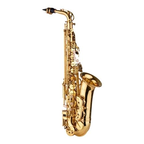 Muslady AS200 Eb Alto Saxophone Brass Lacquered Alto Sax Wind Instrument I7049
