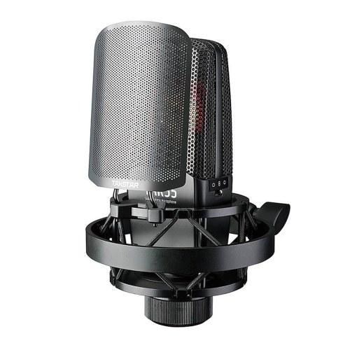 TAKSTAR TAK55 Профессиональный записывающий микрофон с 3 схемами захвата с амортизатором и ветровым стеклом