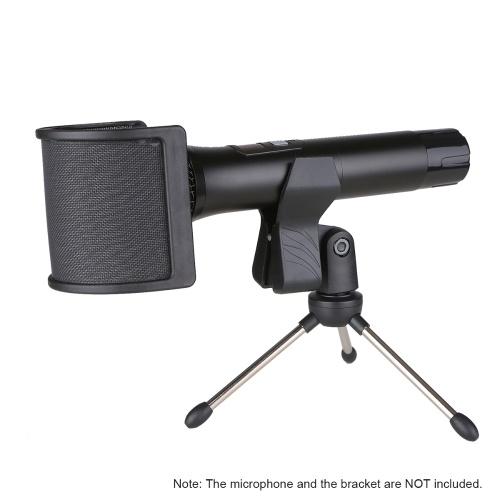 U-Type Bop Net for Microphone Radio Recording Acoustic Filter Microphone Dedicated Wind Noise Net Wind Screen Windshield Windscreen