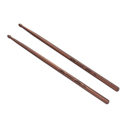 Ein Paar 5A Holz Drumsticks Drum Sticks Ahorn Holz Drum Set Zubehör