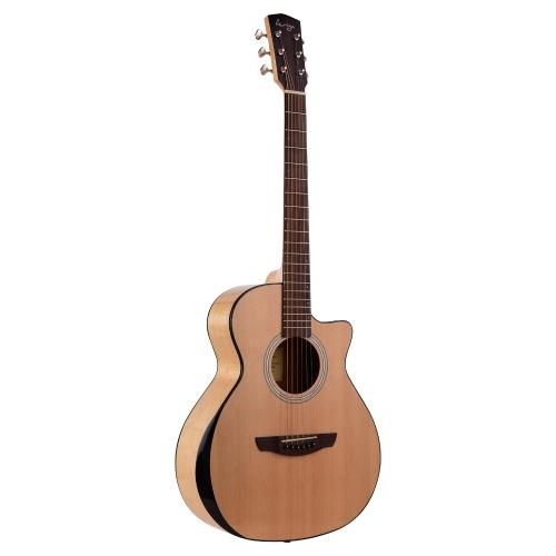 Guitare Folk Auriga 36 pouces Spruce Front Cutaway