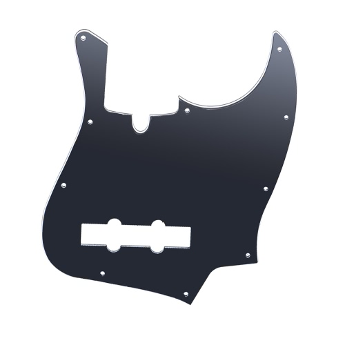 10 Holes JB Bass Pickguard Pick Guards Scratch Plate for Fender Standard Jazz Bass for TAGIMA JB 3Ply PVC Construction