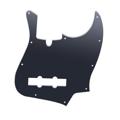 10 Otwory JB Bass Pickguard wybory Osłony Scratch Płytka do standardowego Fender Jazz Bass Budowy TAGIMA JB 3ply PVC