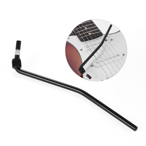 Electric Guitar Tremolo Trem Vibrato Arm Whammy Bar Crank Lever for Floyd Rose Bridge System Black