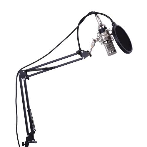 Professionelle Studio Broadcasting Aufnahme Kondensatormikrofon Mic Kit Set
