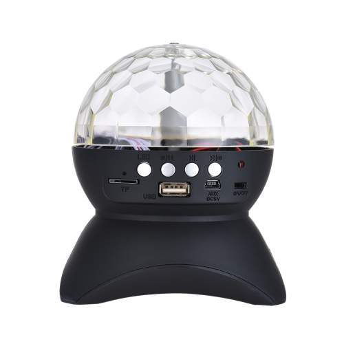 Mini Crystal Ball Wireless BT Speaker Music Player per iPhone iPad Smartphone Riproduzione di musica MP3