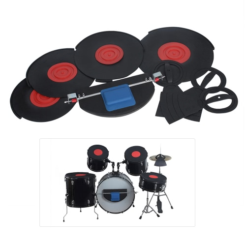 Kit tamburo Set di silenziatori Kit di pratica