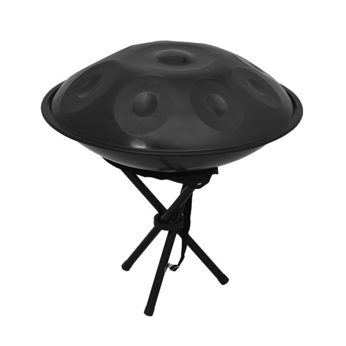 Instrument matériel de percussion de matériel d'acier au carbone de tambour de main de handpan de main de casserole de main de 9 notes