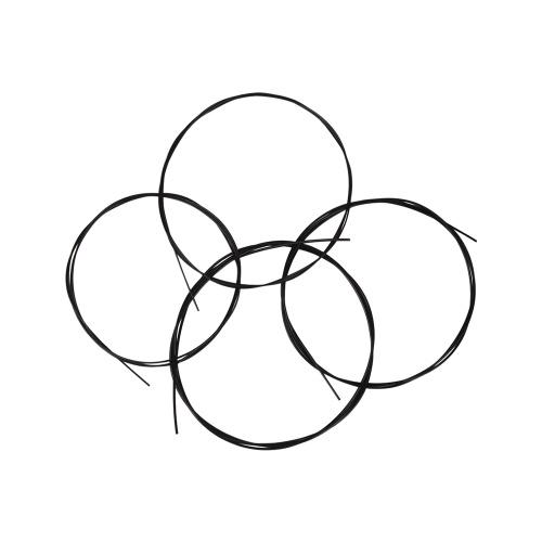4pcs / set Ukulele Ukelele Uke Strings Nylon Matériel