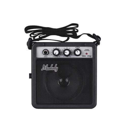 Muslady 5W Mini Guitar Amplificatore Amplificatore per chitarra