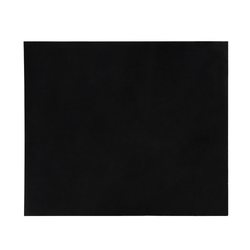 Чистый лист накладной материал нуля пластины для акустических гитар DIY на заказ пвх черный 1 шт.