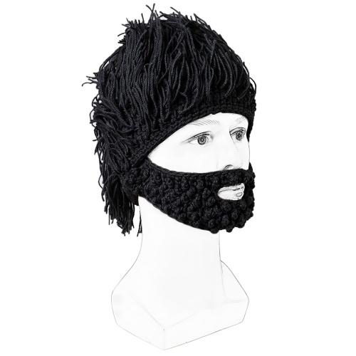 MZ033 BT5.0 Ensemble de bonnet tricoté en laine et laine connectée