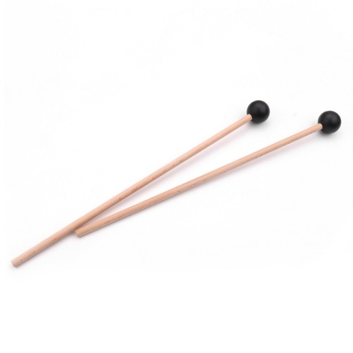 1 Paar professionelle Xylophon Marimba Mallet Drumsticks Percussion Parts Länge 365mm