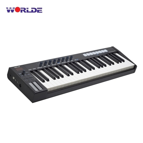 WORLDE Blue Wale 49 Tragbares USB-MIDI-Controller-Keyboard