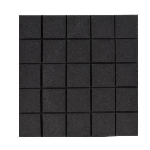 Paquete de 6 paneles de espuma acústica Paneles de espuma de alta densidad insonorizados Cuñas