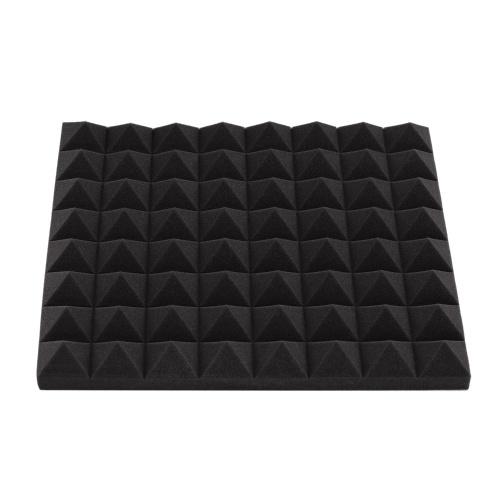6er-Set Akustische Schaumstoffplatten Schalldichte Schaumstoffplatten mit hoher Dichte Keile