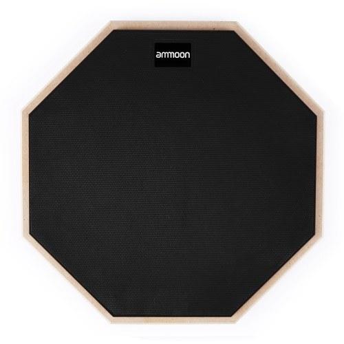 Ammoon 12-дюймовый барабан Практичный коврик Тихий барабан