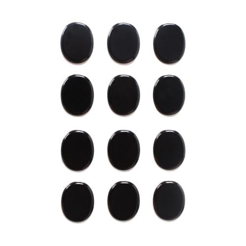 12 Stück Drum Mute Pads Set Silica Gel Dampers Schalldämpfer Damping Pad Percussion Instrument Zubehör