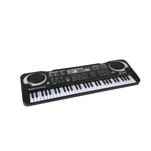 61 Keys Electronic Organ USB Digital Keyboard Piano Musical Instrument Kids Toy with Microphone