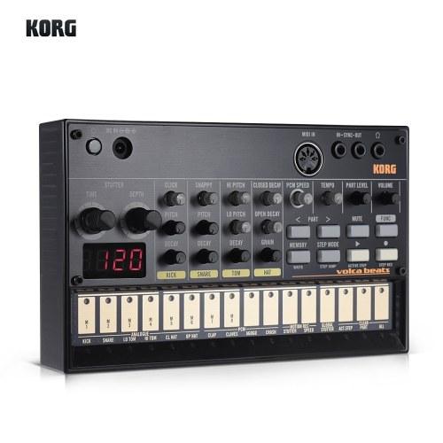 KORG VOLCA SAMPLE Tragbare digitale Sample Sequencer Synthesizer Playback Rhythm Machine