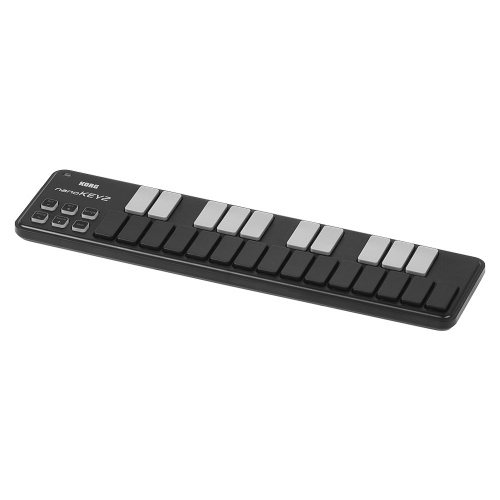 KORG nanoKEY2 Портативный USB-контроллер MIDI-клавиатуры Slim-Line с 25 клавишами и USB-кабелем
