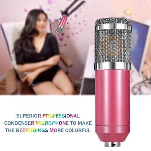 Condenser Microphone High Sensitivity Recording Microphone Professional Recording Equipment