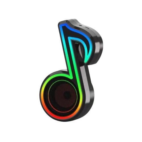 Mini radio portatile Muslady RGB Glare BT Speaker