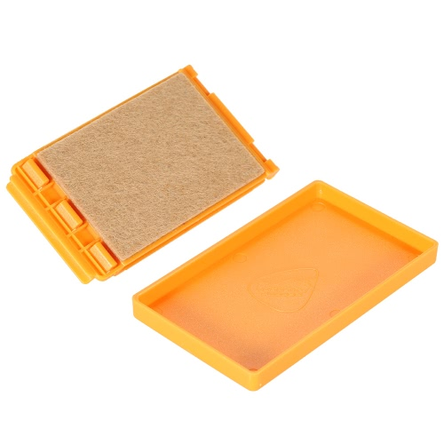 Small Exquisite Guitar String Cleaner High Quality Wool Felt inside W/ Microfiber Cloth for Guitar Bass Ukulele