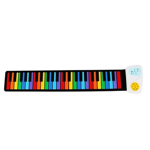 49-клавишная ручная колонка Roll Up Piano