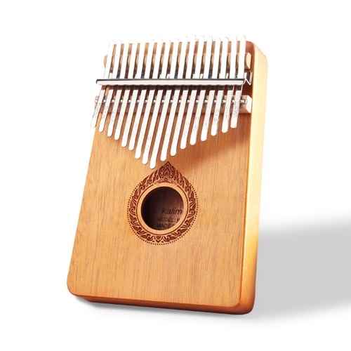Classic 17-Key Wooden Acoustic Thumb Piano Kalimba Mbira Exquisite Workmanship for Beginners Students