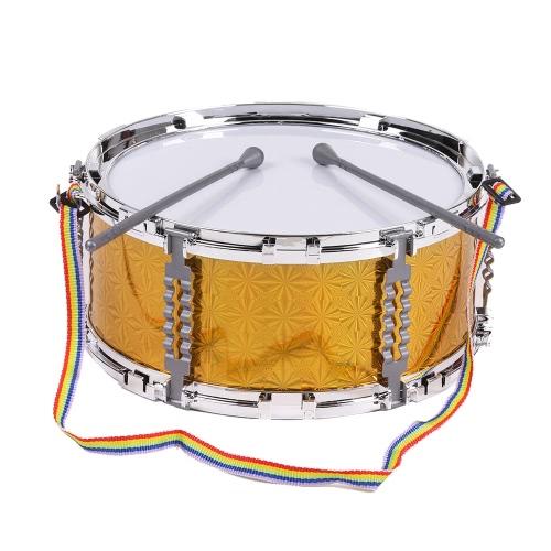 ドラムとカラフルなジャズスネアドラム音楽玩具打楽器子供子供のためのストラップをスティック